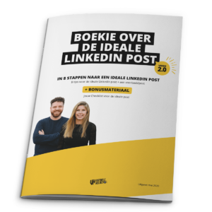 Boekie over de ideale LinkedIn post
